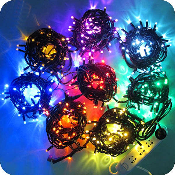 Toprex decor outdoor ip65 rubber wire cable led Christmas string light ornament