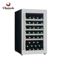 Red Wine Cabinet White Wine Cabinet 49 Bottles Thermoelectric Wine Cooler