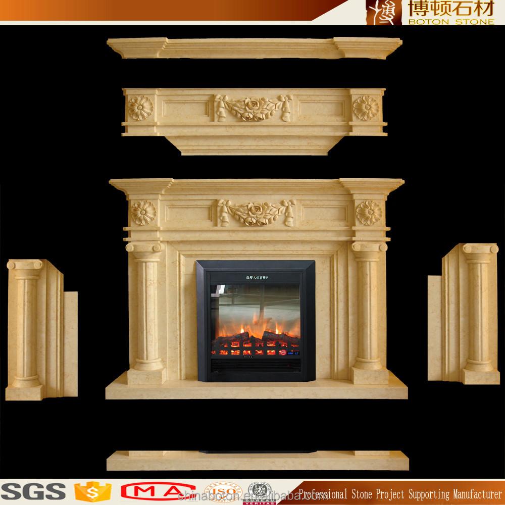 Bajo precio m rmol natural chimenea pieza estantes for Granito natural precios