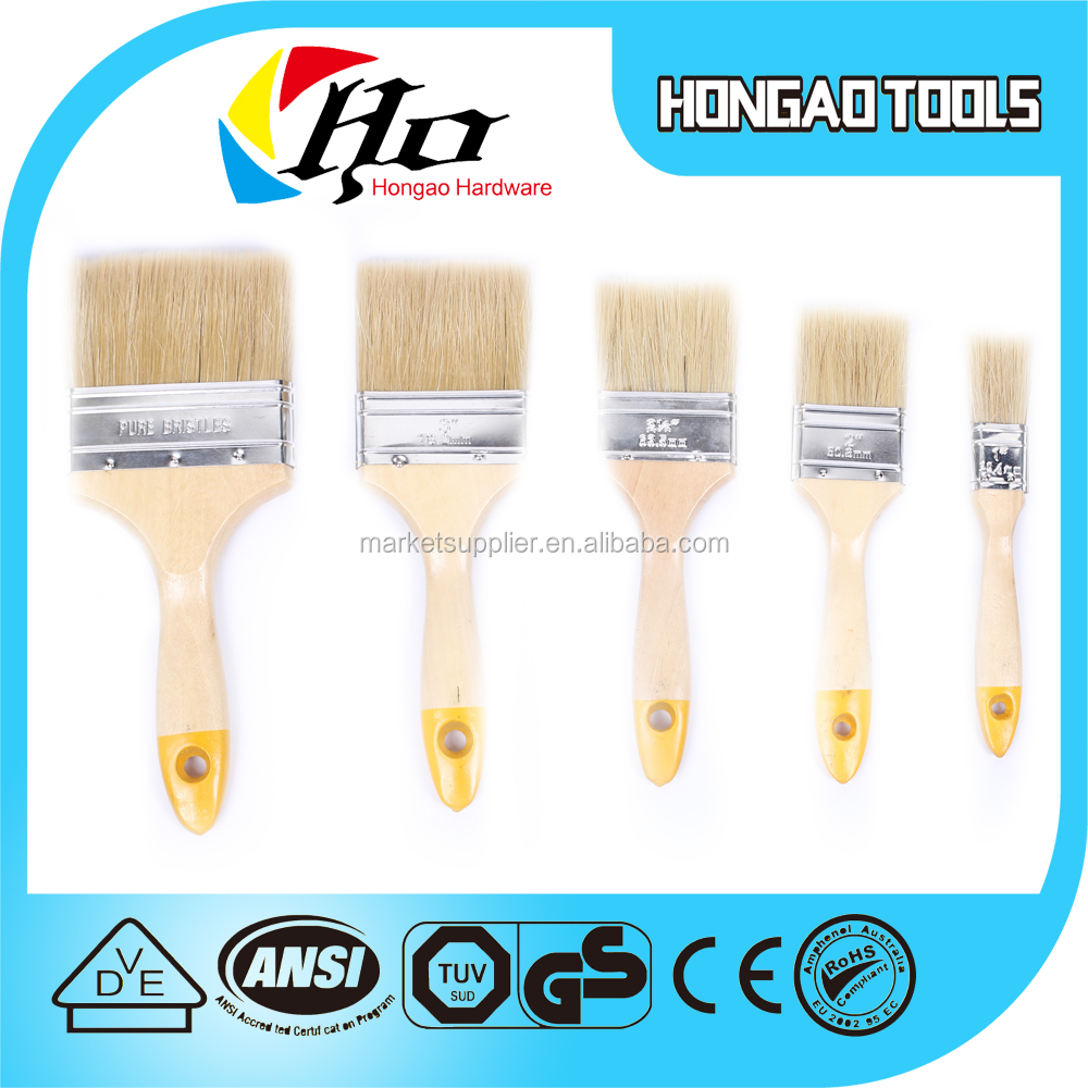 synthetic paint brushes. nylon paint brush pure bristle mixed synthetic filament,wooden handle brush,clean house types of brushes - buy bristles,wooden c