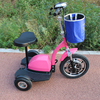 Front suspension 500w 3 wheel tricycle electric with seat