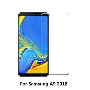 9H 2.5D 0.33mm Force Resistant Up to 22 Pounds Case Friendly Tempered Glass Screen Protector for Samsung A9 2018 A9S A9 Star Pro