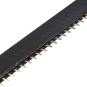 100Pcs 40Pin 2.54mm Female Header Connector Socket For DIY Arduino