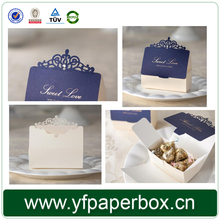 Diamond decoration Wedding favor boxes wedding chocolate candy box casamento wedding favors and gifts