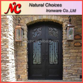 Front House Iron Door Grill Design