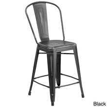 Industrial Antique black metal bar chair&counter chair