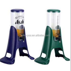 2016 New Plastic Ice Tube Beer Tower