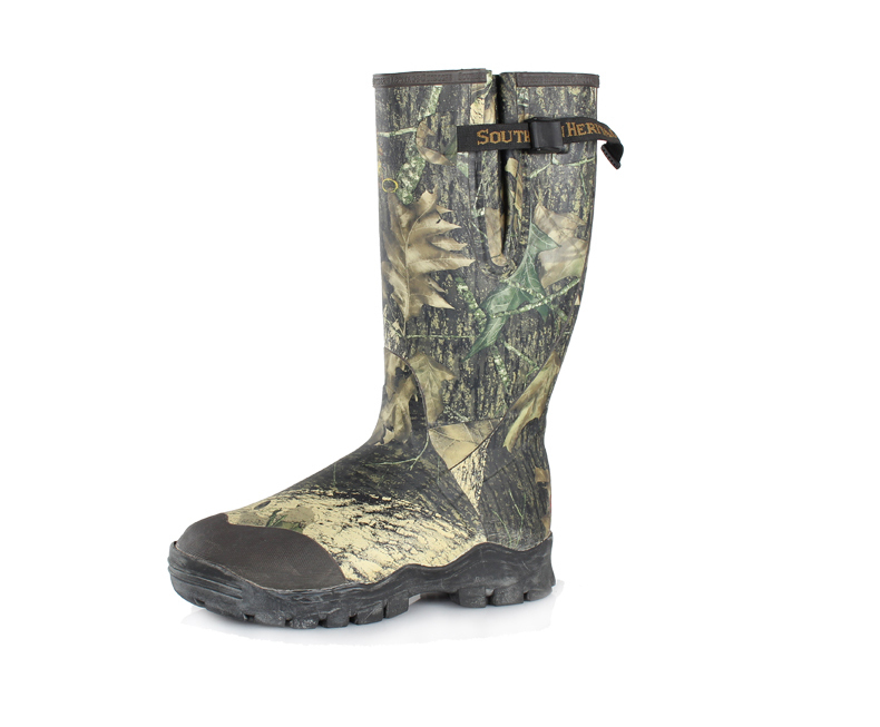 """Western 17"""" 800g Insulated Neoprene Rubber Hunting Boot"""