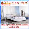 G961# Golden Furniture Happy Night indian wood double bed designs