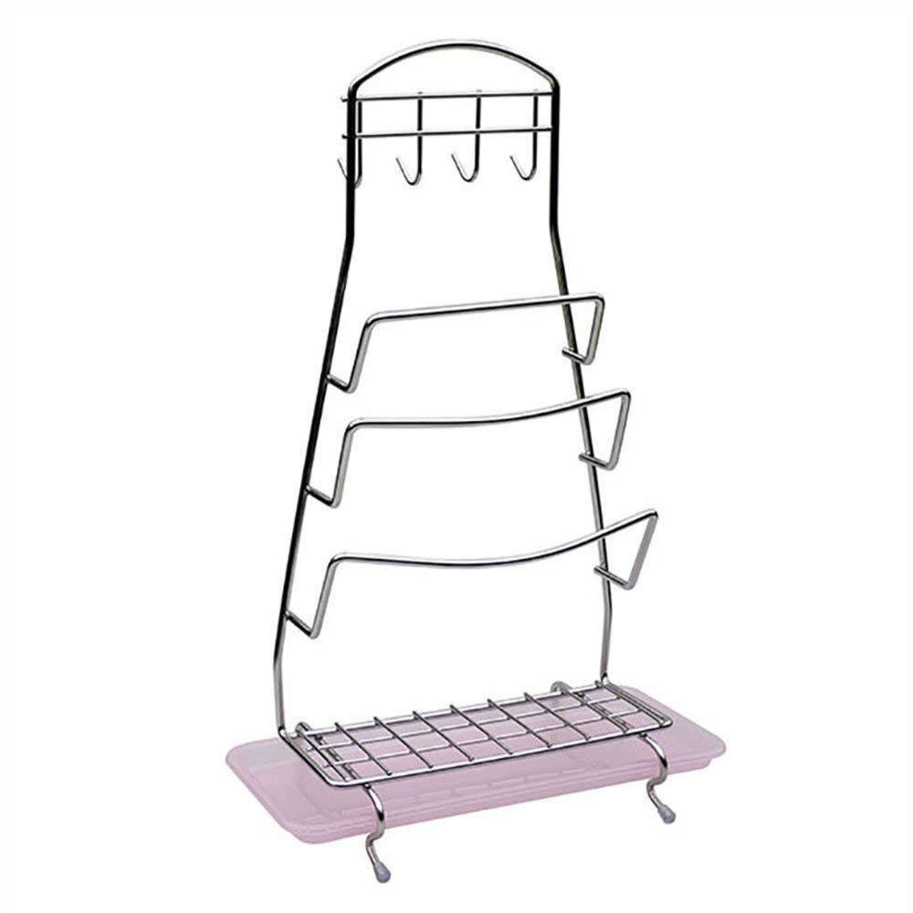 DEE Storage Rack 304 Stainless Steel Lid Rack, Kitchen Racks Lid Water, Kitchen Supplies Rack