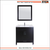 T9030A Single design chinese solid wood bathroom vanity unit