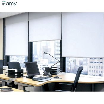 Hot selling custom made design roller shades/window blackout roller blind with accessories