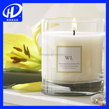 Long Burning,Flameless Feature Soy Wax Material Glass Jar Candle