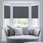 Manual Chain Control Horizontal Indoor Wholesale Blackout Sunscreen Window Roller Blind Shade