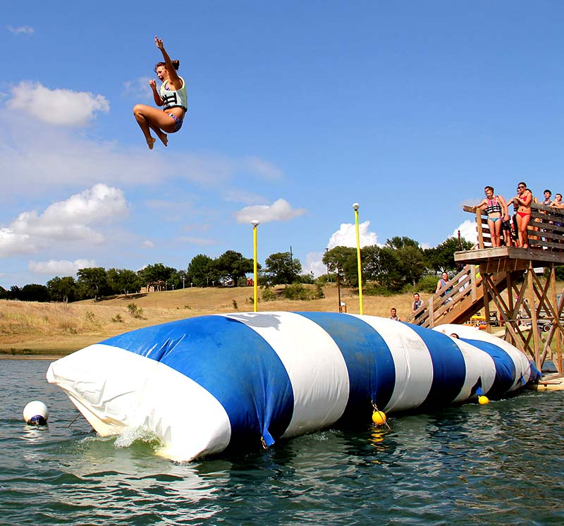 Sport the lake inflatable <strong>water</strong> catapult blob play for <strong>water</strong> park