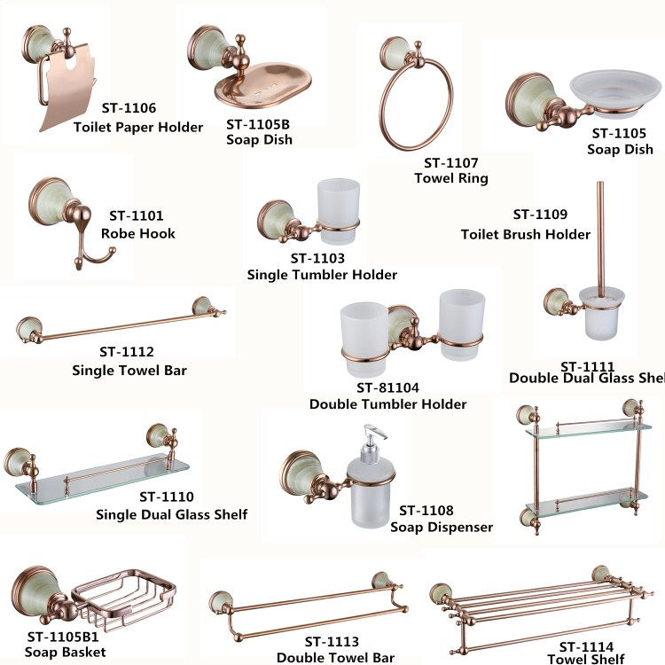 rose design bathroom accessories rose design bathroom accessories suppliers and manufacturers at alibabacom - Bathroom Accessories Manufacturers