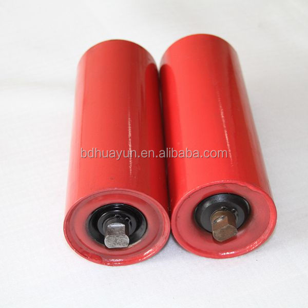 heavy duty tube 4 conveyor idler roller with 6204 bearing 1