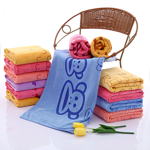 Wholesale Custom Sublimate Printed Microfiber Hand Towel For Kids
