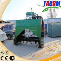 M3200II best composter compost turner machine to turn and shredd cow manure