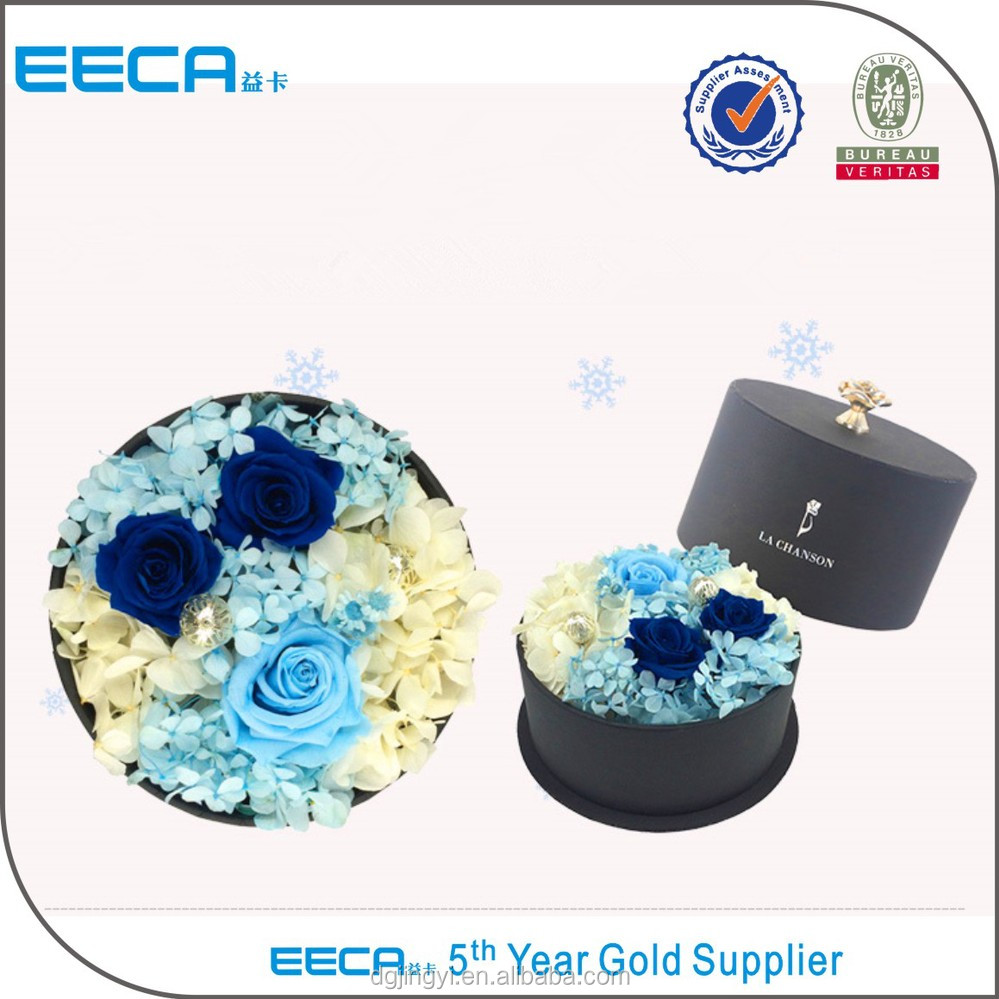 Buy From China Colorful Paper Round Box/flower Gift Box