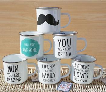 enamel blue mugs and cups likes start & mugs wholesale