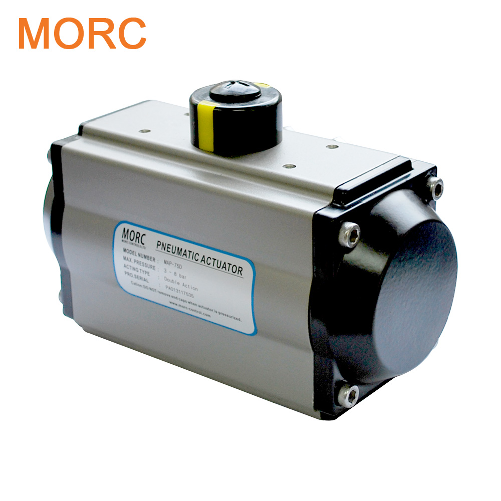 2017 pneumatic rotary actuator namur for plug valve
