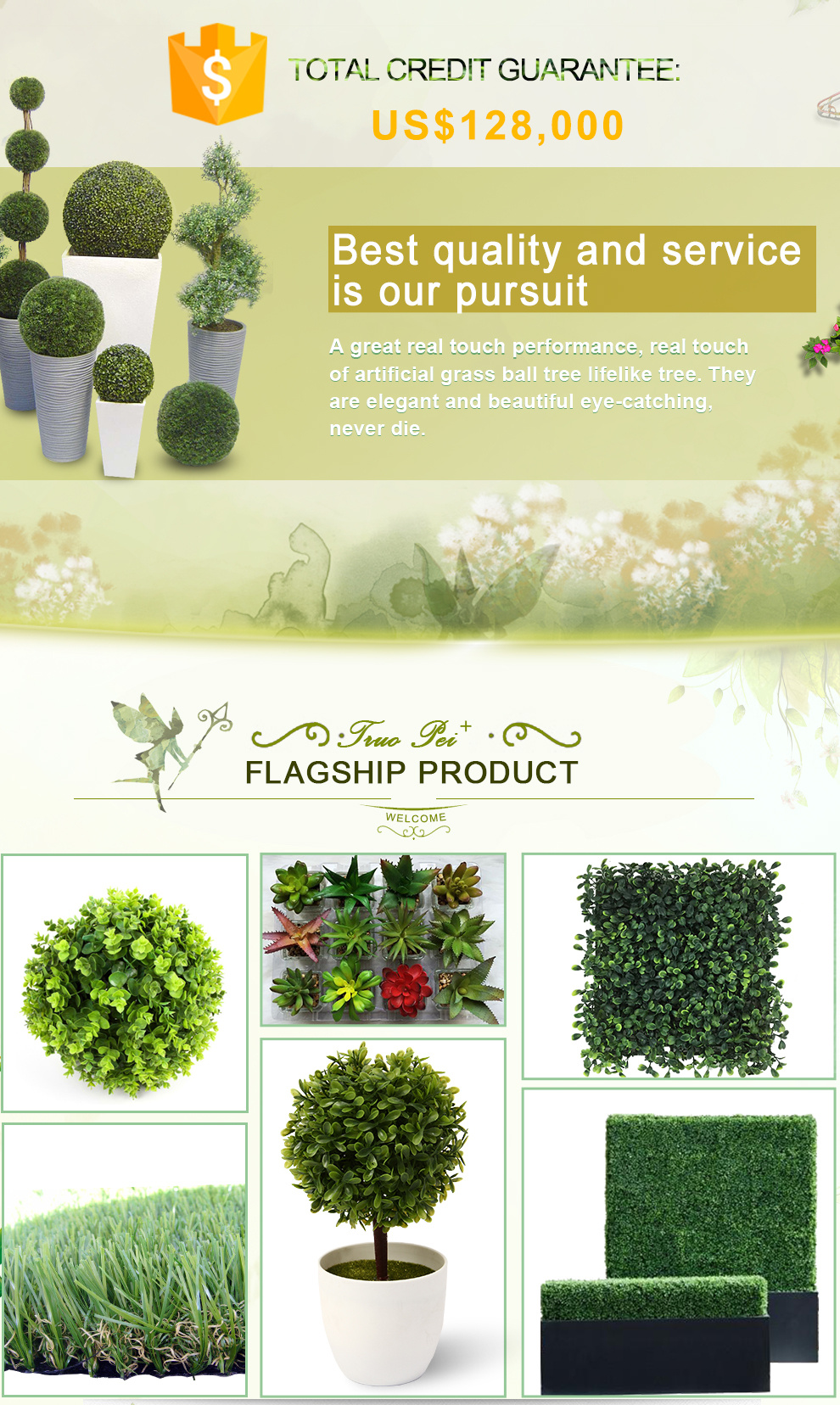Zhejiang Ruopei Arts & Crafts Co., Ltd. - Artificial Plant