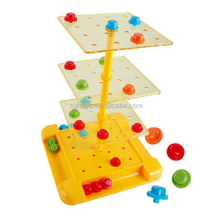Classic Family Game Tic Tac Turn Play or Spin Chess Table for Kids