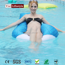 VIsi BB303 Single Size Floating Beanbag Chair Giant Pool Beanbag Sofa Seat Water Chair Float Bean Cushion Recliner Water Lounger