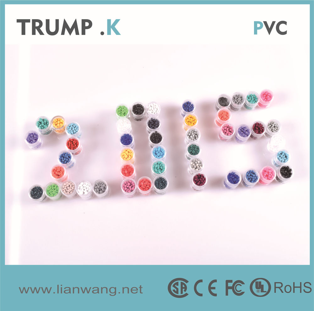 Transparent And Colored Pvc Granules Pvc Compound Pvc Pellets For ...