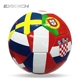 Professional football Country Flag Football,Custom Wholesale PVC Promotional Soccer Ball