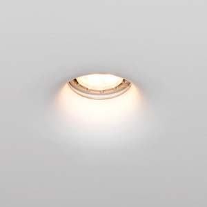 Majeax wholesale indoor IP20 decorative lighting ceiling recessed gypsum plaster trimless led down light for living room office