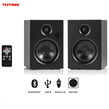 2*30W Wireless Surround Sound BT 4.2 Portable Speaker for Home Theater Use