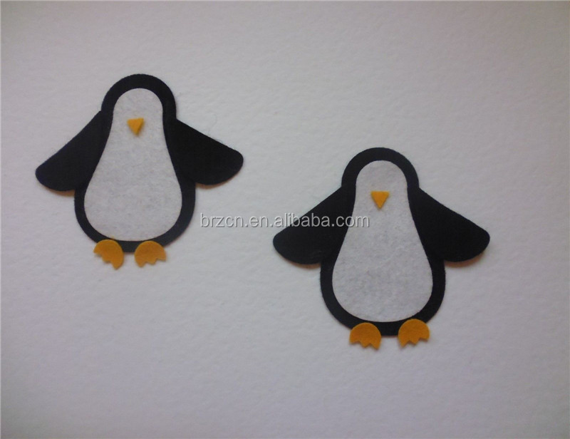 Handmade Penguins Design Children DIY Felt Craft Kit