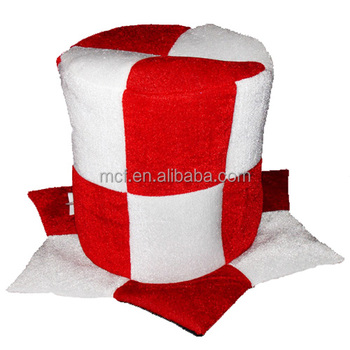 Party wholesale red white England football carnival huge top tall hat for  party c3c1e2ea9817