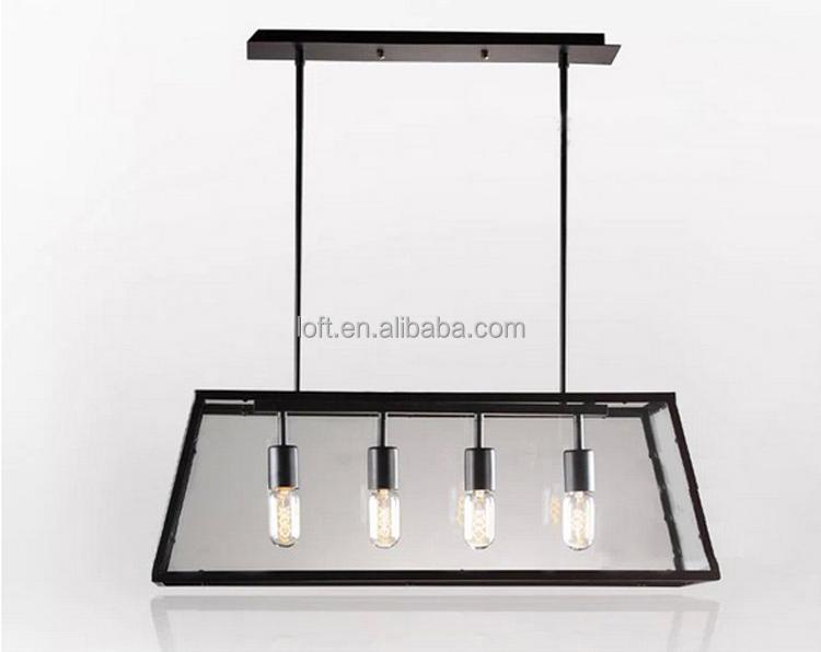 Lampenkap Met Kroonluchter : Koppen industriële helder glas lampenkap ...