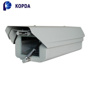 outdoor IP66 cctv camera housing with heater & blower & wiper