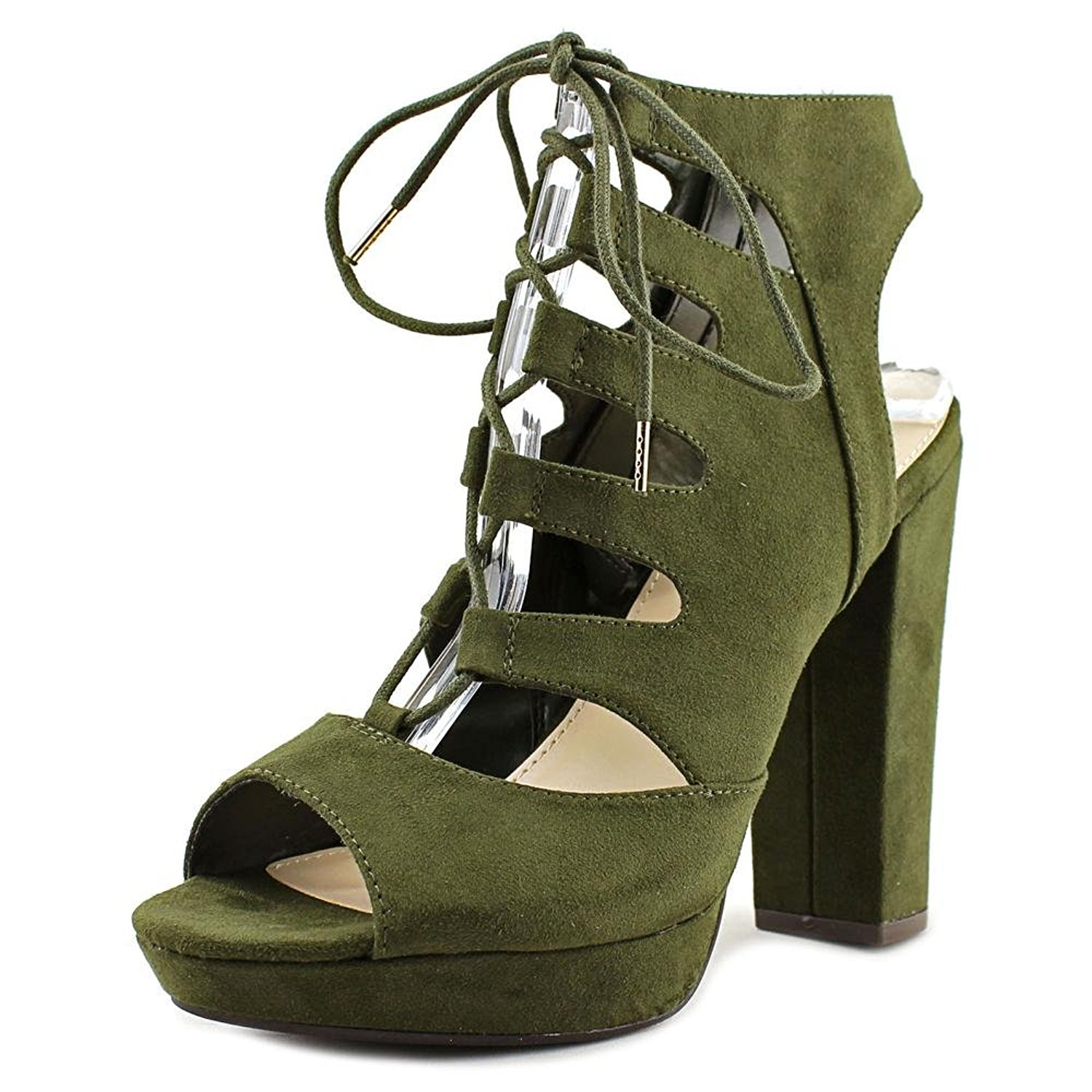 60e86a48ee7 Get Quotations · Bar III Womens Nelly Fabric Open Toe Casual Strappy Sandals