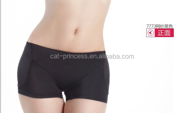 Comfortable fabric padded hips and buttocks