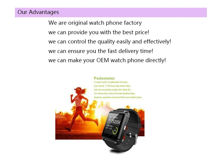 hot sale andriod led smart pocket watch