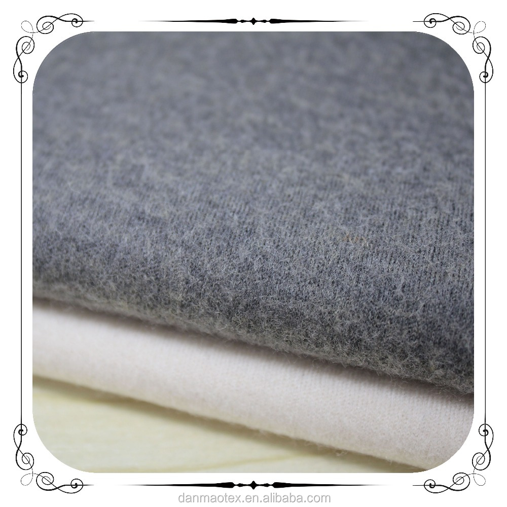 Worsted Merino Wool Polyester Nylon blended milling twistless double-faced fabric(DL321125)