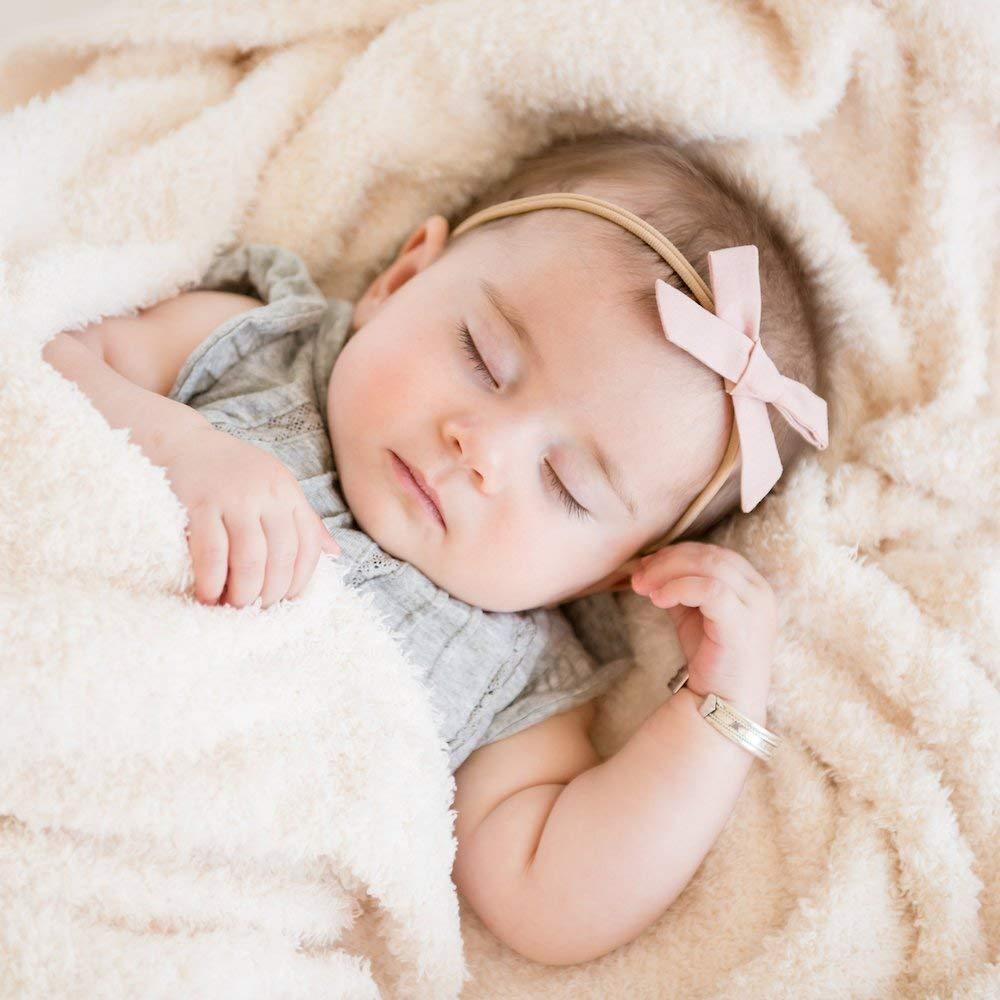 "Saranoni Bamboni Luxury Bamboo Baby Blanket (Mini (15""x20""), Ivory)"
