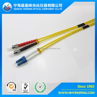 Network test high quality made in China factory sale indoor quick type low loss LC-ST SM DX 2.0/3.0 fibre optic patch cord