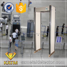Cheap multi zone walk through metal detector/door frame archway metal detector/metal checkpoint gate