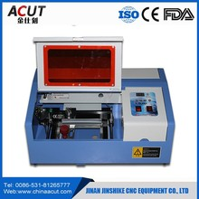China mini 3020 stamp, rubber stamp laser engraving machine