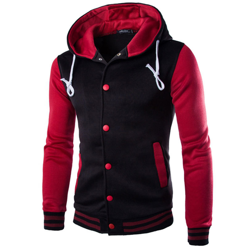2740c54dd53a Get Quotations · 2015 Autumn New Brand Sweatshirt Hoodies Men Casual Slim  Fit Fashion Tracksuit Men s Stylish Sportswear Baseball