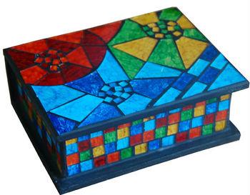 Bali Mosaic Jewelry Box Buy Bali MosaicMosaic Jewelry BoxMosaic