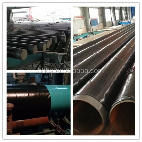spiral welded steel pipes / anticorrosion steel pipes