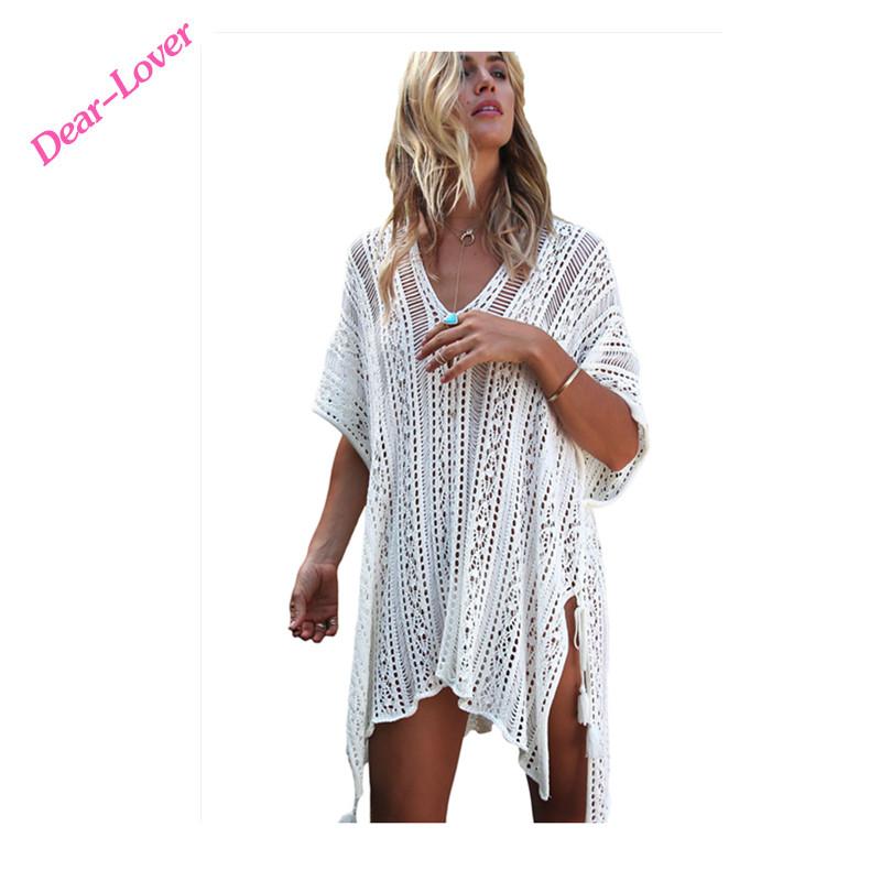 2018 Nueva Llegada Tapa De Ganchillo Vestido De Playa - Buy Cubrir ...