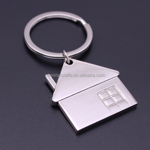 High-quality house shaped home keychain